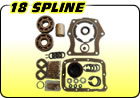 18 Spline Rebuild Kits