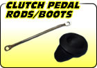 Clutch Pedal Rods / Boots