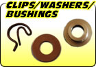Clips / Washers / Bushings