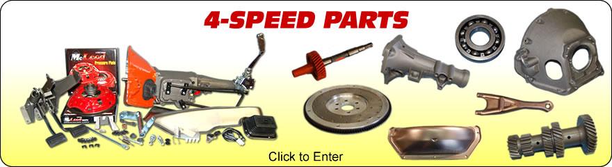 4-Speed Parts