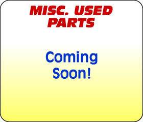Miscellaneous Used Parts
