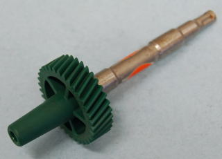 SP34NOS SPEEDOMETER PINION GEAR 1966 & UP 34 TOOTH/GREEN NOS