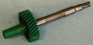 SP34U SPEEDOMETER PINION GEAR 1966 & UP 34 TOOTH/GREEN-USED