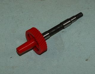 SP36 SPEEDOMETER PINION GEAR 1966 & UP 36 TOOTH/RED NEW