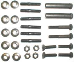 EXH-FK8135 EXHAUST MANIFOLD FASTENER KIT 68-70 340 SMALL BLOCK