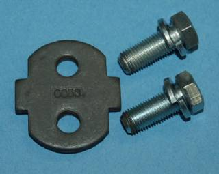 H0053 STIFFENER PLATE W/BOLTS