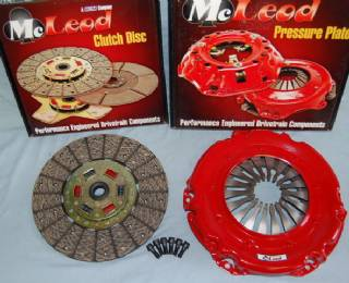 "MCDP1118 McLEOD 11.9"" 18 SPLINE PERFORMANCE DIAPHRAGM CLUTCH PKG FOR 143 TOOTH FLYWHEEL"