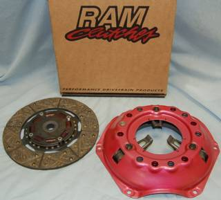 "RAM-P1023 10.9"" 23 SPLINE PERFORMANCE CLUTCH PKG FOR 130 TOOTH FLYWHEEL"