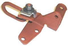 TCB-2705 1971 BIG BLOCK THROTTLE CABLE BRACKET 440-6 PACK