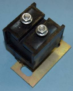 TM826C CONVERSION TRANSMISSION MOUNT 1963-65 B-BODY W/70-UP A833 OR 66-UP 727, POLYURETHANE