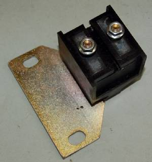 TM886 TRANSMISSION MOUNT 1965-68 C-BODY AUTOMATIC, POLYURETHANE