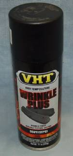 VHT201 VERY HIGH TEMPERATURE BLACK WRINKLE PLUS PAINT